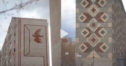 Enlace a El diseñador de videos Andrey Pershin brinda vida a murales creados en tiempos de la URSS en edificios de la ciudad rusa de Izhevsk