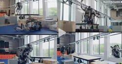 Enlace a Los robots de Boston Dynamics también hacen fails y se meten de hostias, por @ActualidadRT