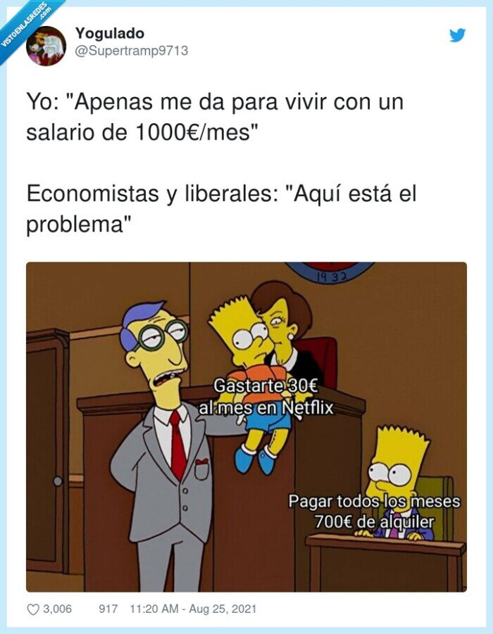 1000€/mes,alquiler,economistas,liberales,netflix,problema,salario