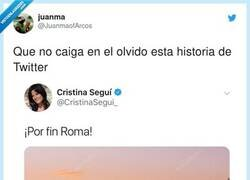 Enlace a Never forget, por @JuanmaofArcos