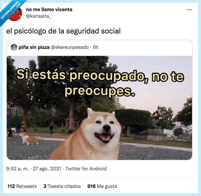 psicólogo,seguridad social