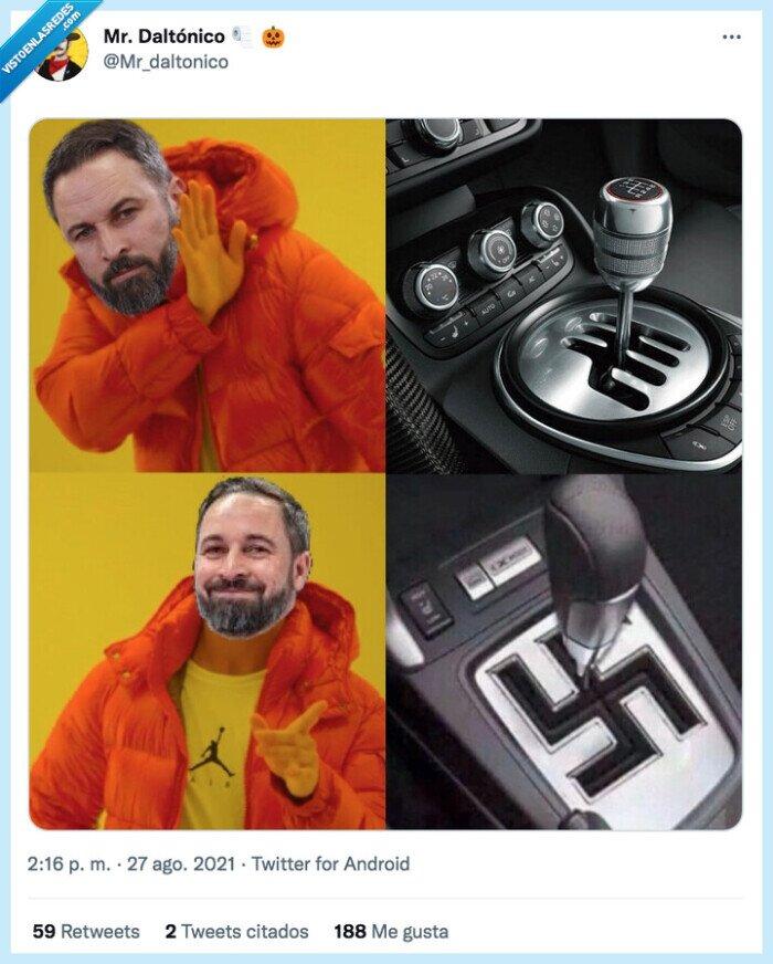 abascal,cambio de marchas,nazi