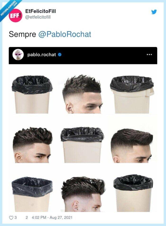 basura,peinado