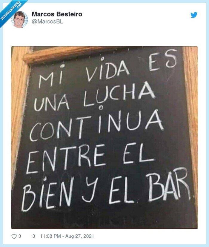 bar,bien,cartel,mal