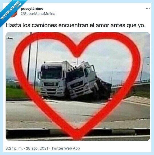 amor,camiones,encontrar