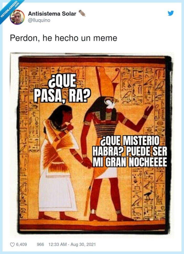 dios,egipcios,que pasará,ra,rafael