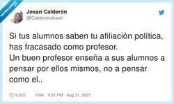 Enlace a Se te ve el plumero chaval, por @CalderonJosan