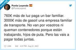 Enlace a La que nos han liado, por @PuntaLeyend