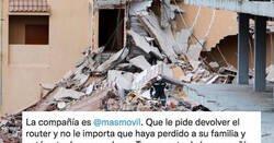 Enlace a MásMóvil multa al hombre que perdió a su familia en el derrumbe de Peñíscola por no devolver un router y luego rectifica