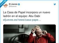 Enlace a  La Casa de Papel ficha el Messi de los ladrones, por @eljueves