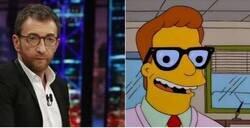 Enlace a El hilo definitivo que demuestra que Pablo Motos y Troy McClure de los 'Simpson' son la misma persona, por @robbhaifisch