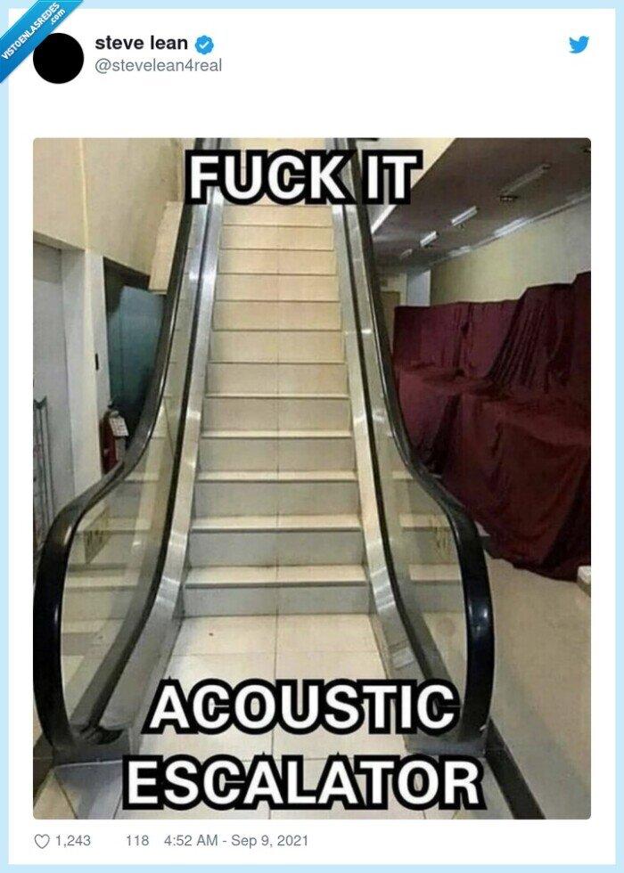 acústicas,escaleras