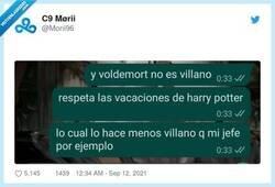 Enlace a Los auténticos villanos, por @Morii96