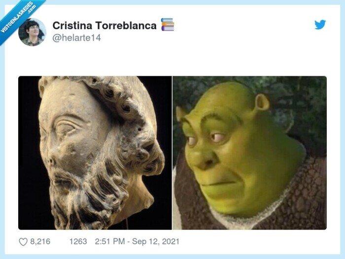 escultura,shrek