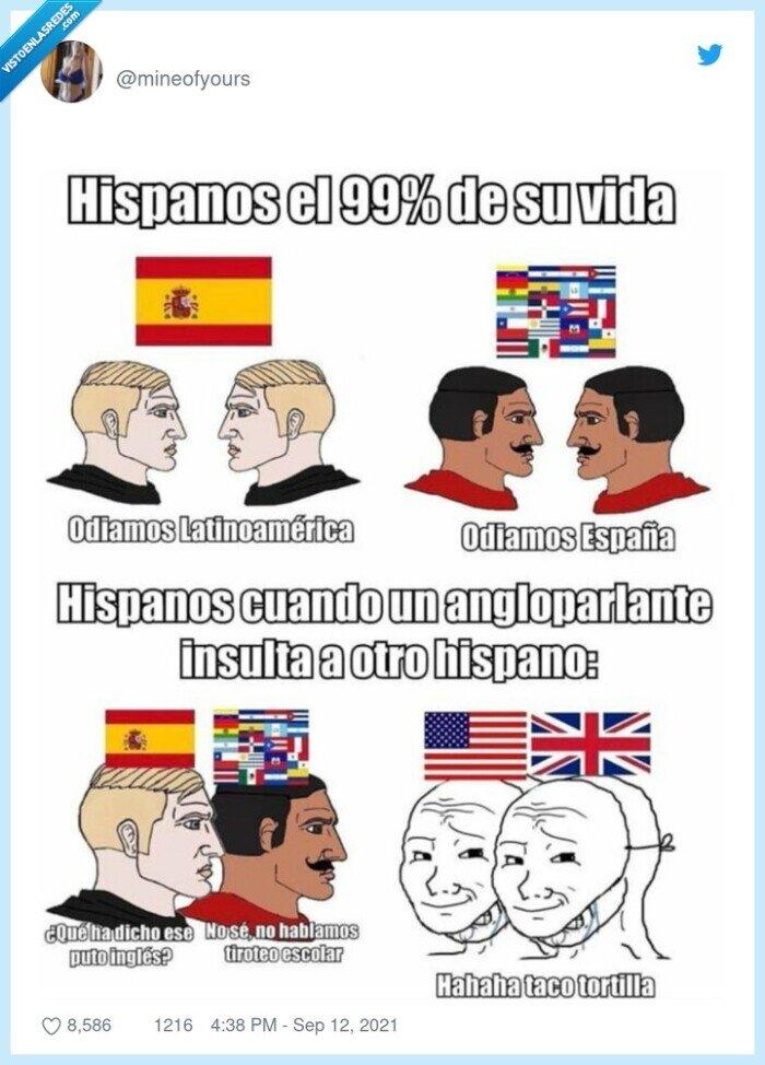 españoles,latinos,unión