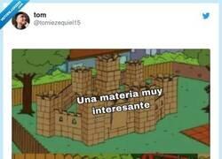 Enlace a El profe que sabe enseñar, te ayuda a que construyas el castillo, por @tomiezequiel15