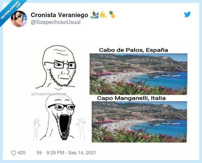 comparación,españa,italia,playas