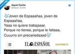 Enlace a Tres titulares llenos de vergüenza ajena que nos hacen ver que los jóvenes no queremos trabajar , por @Aquel_Coche