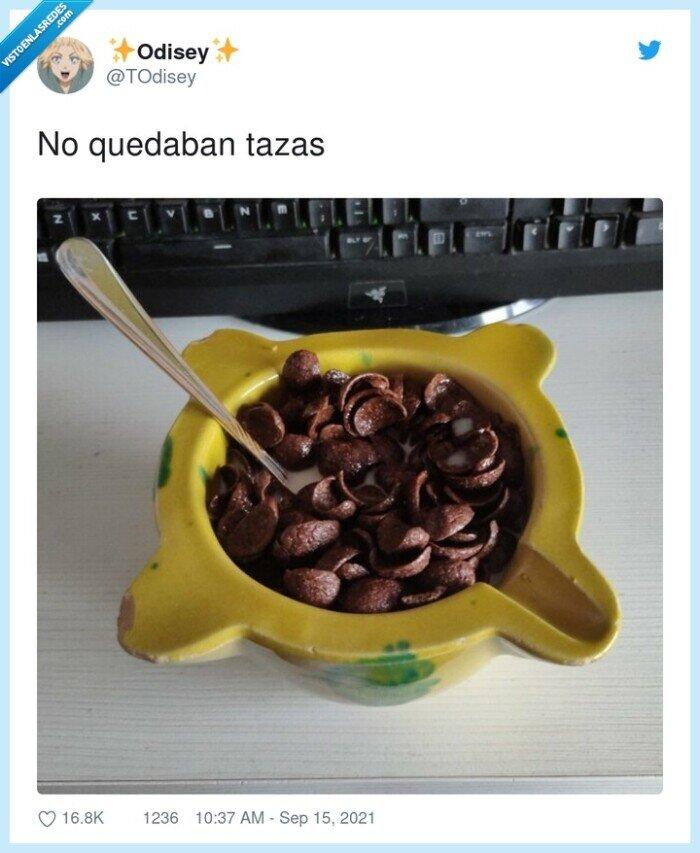 chocapic,tazas
