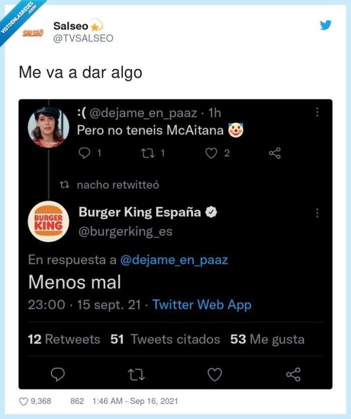 burger king,mcaitana,mcdonalds
