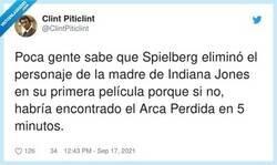 Enlace a La tenía Indi en un cajón de su mesilla de noche, pero no la vió, por @ClintPiticlint