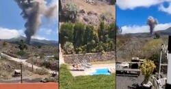 Enlace a Ha tardado en llegar, la primera recopilación de momentos grabados por cuñados en la erupción de La Palma, por @sorrasinculo