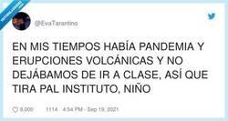 Enlace a Que no dejábamos de ir a clase dice, por @EvaTarantino