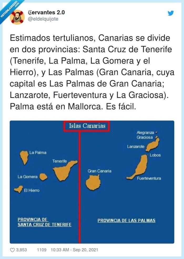 diferencia,islas,la palma,las palmas,volcán