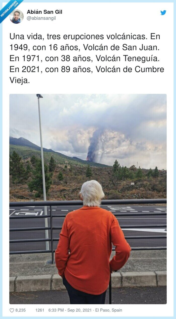 años,erupciones volcánicas,la palma,señor,volcán