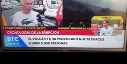 Enlace a Este hombre de La Palma está indignado, toda la vida pagando impuestos para esto, por @WillyTolerdoo