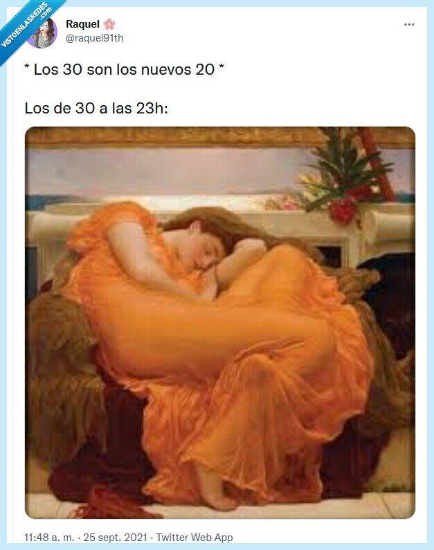20,30,dormir,sueño,twitter