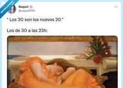 Enlace a ¿Los 30 son los nuevos 20? No los recuerdo así..., por: @raquel91th