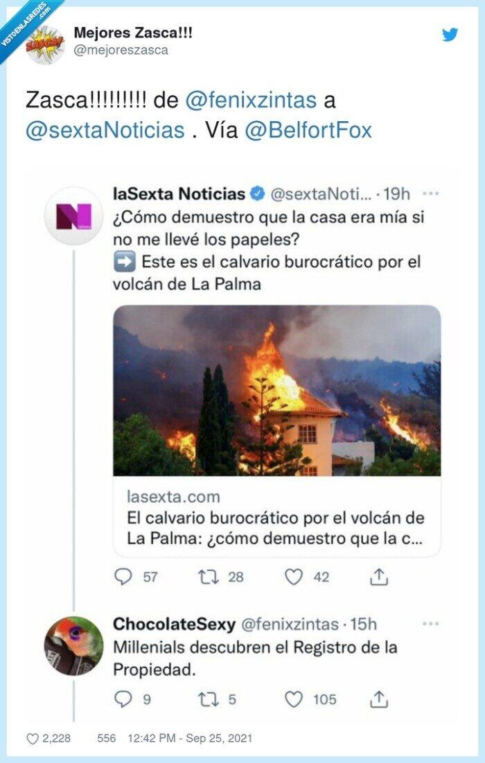 la palma,propiedad casas,registro,volcan,zasca