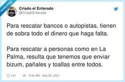 Enlace a Una auténtica vergüenza, por @CriadoEnterado