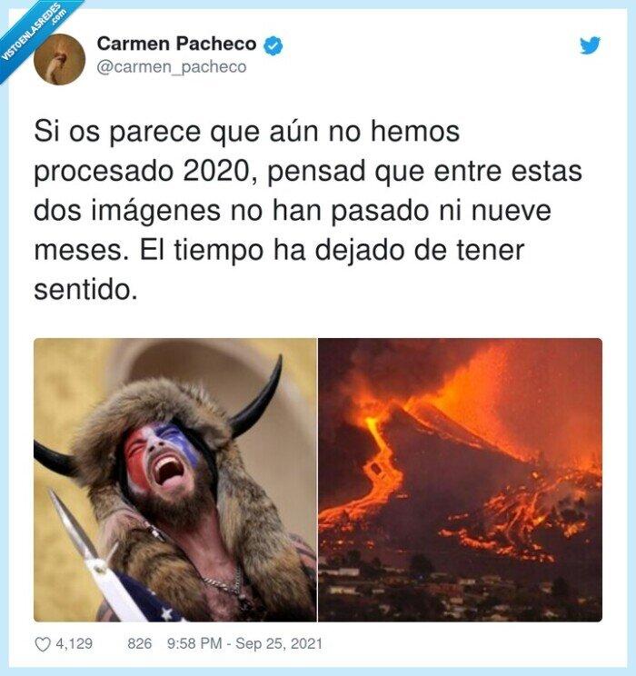2021,asalto capitolio,imágenes,la palma,procesar,volcan