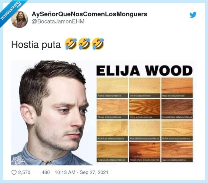chistaco,elijah wood,madera