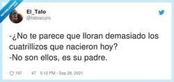 Enlace a No es para menos, por @tatoscuro