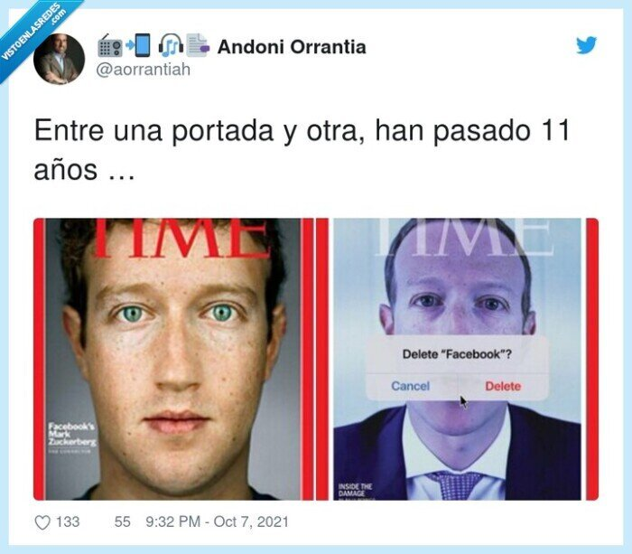 antes,después,mark zuckerberg,portada,revista,time