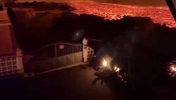 Enlace a Así avanza el río de lava por La Palma, parece la escena de la lucha entre Anakin y Obi Wan, por @LaPalmaErupcion