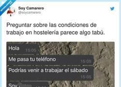 Enlace a La pregunta que indigna a muchos hosteleros que buscan trabajadores y no encuentran, por @soycamarero