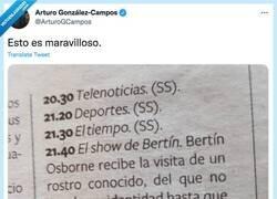 Enlace a Acorde con el nivel intelectual de los espectadores del programa, por @ArturoGCampos
