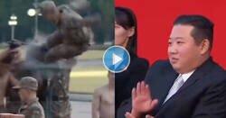 Enlace a Kim Jong Un, flipándolo mucho con las exhibiciones militares de sus cuerpos de élite, por @Manuel_de_BCN2