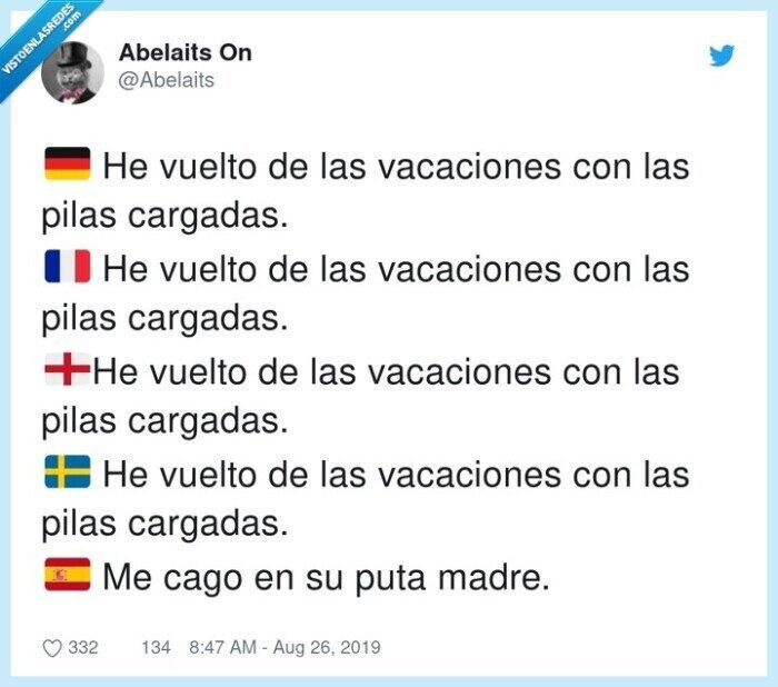 pilas cargadas,tpm,vacaciones,volver