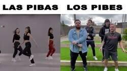 Enlace a Chicos vs chicas con sus bailes, por @Rickyexp
