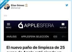 Enlace a Siendo apple, me parece barato, por @eliasmgf
