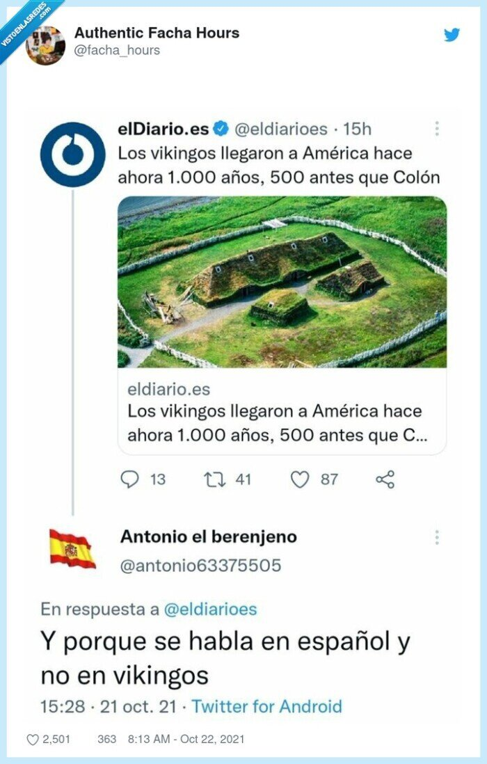 america,colon,español,hablar,vikingos