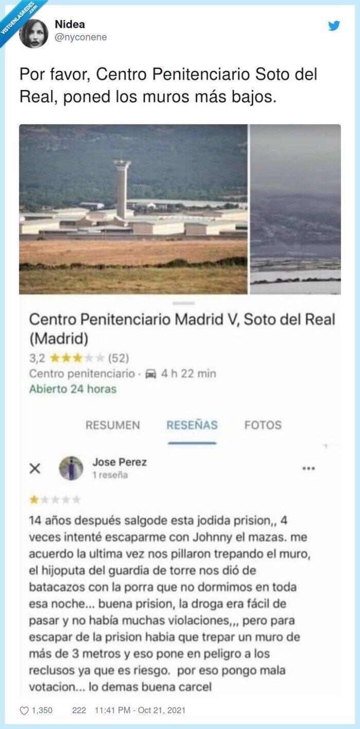 centro penitenciario,review,soto del real