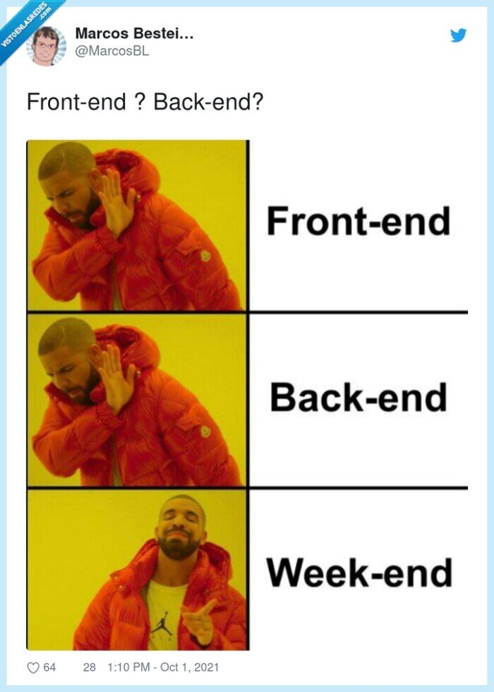 backend,drake,frontend,weekend