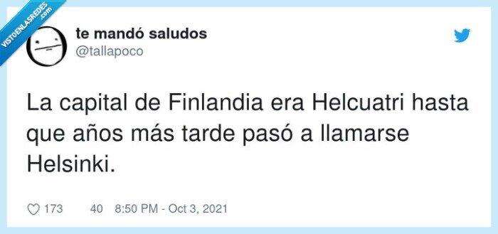 capital,finlandia,helcuatri,helsinki,llamarse