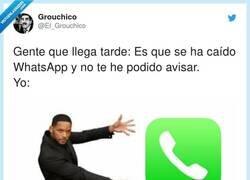 Enlace a La gente se ha olvidado del uso primordial de un teléfono, por @El_Grouchico